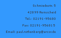 Email an Paul Ruthenberg GmbH